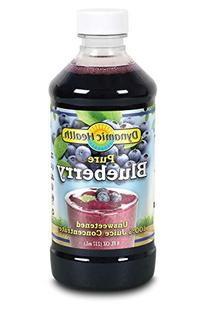 Dynamic Health Blueberry Juice Concentrate, 8-Ounce