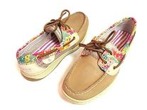 Sperry Bluefish 2 Eye Linen/natural Liberty Boat Shoe Women