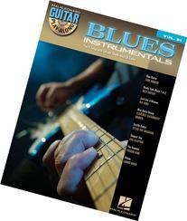 Blues Instrumentals Guitar Play-Along Volume 91 Bk/Cd