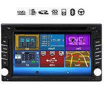 Bluetooth Double 2 Din 6.2-inch Touch screen Car Stereo