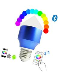 XIQI®Bluetooth LED Light Bulb,Dimmable Multicolored Color