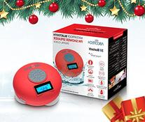Bluetooth Speaker with LCD Display, NFC, FM Radio and
