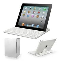 Anker Bluetooth Aluminum Keyboard Cover with Stand, White
