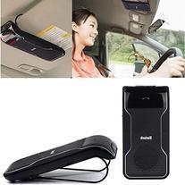 ZhiZhu Bluetooth Visor Multipoint Speakerphone Car kit -