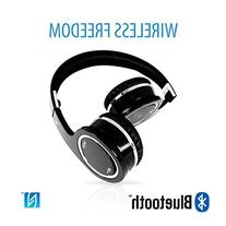 V7 On-Ear Stereo Bluetooth Wireless Headphones with Built-In