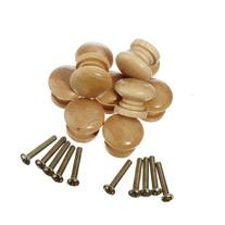 10pcs Wooden Cabinet Drawer Knob By LookplaShop
