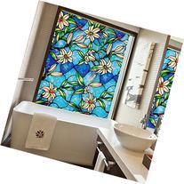 bofeifs Decorative Privacy Window Film Frosted Window Film