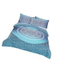 Sleepwish 4 Pcs Bohemian Luxury Boho Bedding Crystal Arrays