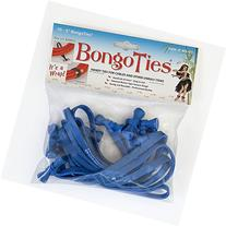BongoTies® ALL BLUE Bongo Ties A5-01-B ~ 10 Pack