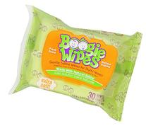 Boogie Wipes, Wet Saline Nose Wipes for Kids and Baby, Soft