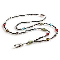Stained Glass Beaded ID Badge Lanyard Necklace For Women