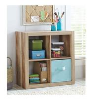 Better Homes and Gardens Bookshelf Square Storage Cabinet 4-
