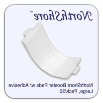 NorthShore Booster Pads with Adhesive, Large, Pack/30