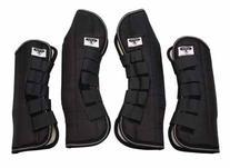 Saxon Travel Boots - set of 4 Cob Black by Saxon