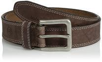 Timberland Men's 35Mm Boot Leather Belt, Dark Brown, 36