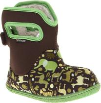 Bogs Baby Boot - Toddler and Infant's Zoo Green, 10.0