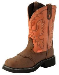 Ladies Mid-Calf Western J-Flex Comfort Scallop Orthotic