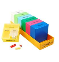 Borinhalbich The 7Pack® 7 Day 3 Compartment Pill Organizer