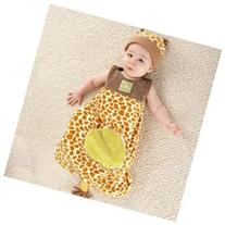 Born To Be Wild Giraffe Snuggle Sack and Hat BA15003GR BABY