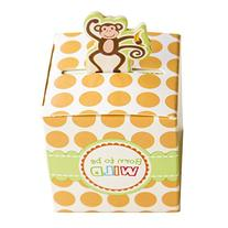 Born To Be Wild Party Favor Box, Cute Jungle Themed Zoo