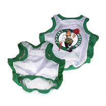 Sporty K9 Boston Celtics Basketball Dog Jersey, Medium
