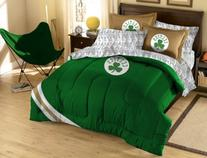 NBA Boston Celtics Twin Bed in a Bag with Applique Comforter