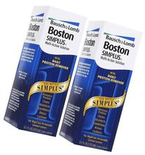 Boston Simplus Multi-action Solution, 3.5 Fluid Ounce, 2-