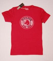 Boston Red Sox Vintage Retro Logo T-Shirt by Red Jacket Size