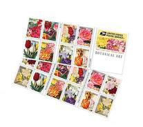 Botanical Art USPS Forever Stamps, Book of 20 - 2016 New