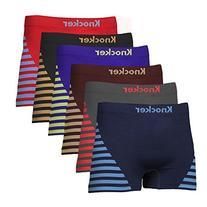 Men's Both Side Stripes Printed Nylon Stretchable Boxer 6-