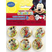 Mickey Mouse Bouncy Ball Party Favors, 6ct