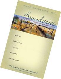 Boundaries Where You End And I Begin