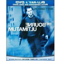 Universal Bourne Ultimatum Blu Ray/dvd Combo Disc