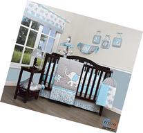 GEENNY Boutique Baby 13 Piece Nursery Crib Bedding Set,