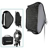 Neewer 24 x24 60x60cm Bowens Mount Softbox with Grid and S-
