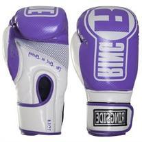 Ringside Boxing Apex Fitness Bag Gloves - L/XL - Purple/