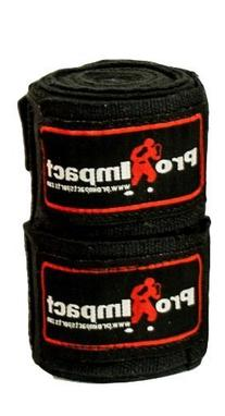 "PRO IMPACT Boxing/MMA Handwraps 180"" Mexican Style Elastic 1"