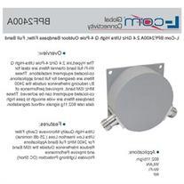 L-Com BPF2400A 2.4 GHz Ultra High Q 4-Pole Outdoor Bandpass