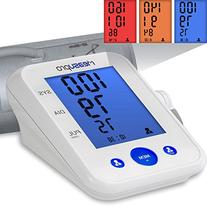 MeasuPro Digital Upper Arm Blood Pressure Monitor and Heart