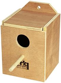 Prevue Pet Products BPV1101 Wood Inside Mount Nest Box for