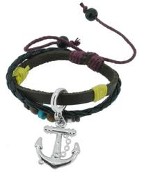 Fashion Braided Leather Rope Nautical Navy Boat Surf Anchor