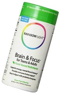 Brain & Focus Multivitamin Rainbow Light 90 Tabs