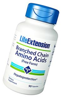 Life Extension Branched Chain Amino Acids, 90 Count