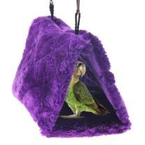 Vktech® Plush Snuggle Bird Hammock Hanging Snuggle Cave