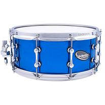 Ahead Brass Snare Chrome Blue 6 x 14 Inch