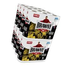 Brawny Giant Rolls Paper Towels, White, 48 - Count