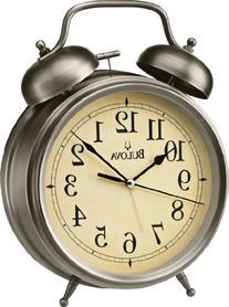Bulova Brayton Large Alarm Clock - 8.75W x 11.5H in