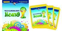 Panini Brazil 2014 - 1 Sticker Album + 50 Packs FIFA World