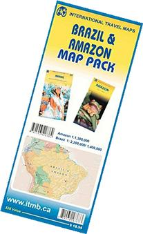 Brazil & Amazon Map Pack
