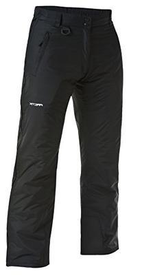 Arctix Men's Breakaway Full Zip Pants, Black, Large